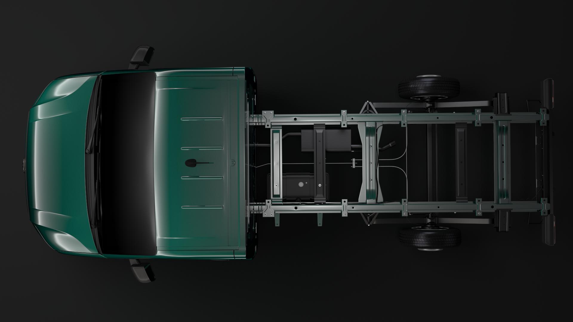 wv crafter chassis single-cab 2017 3d model max fbx c4d lwo ma mb hrc xsi obj 275100