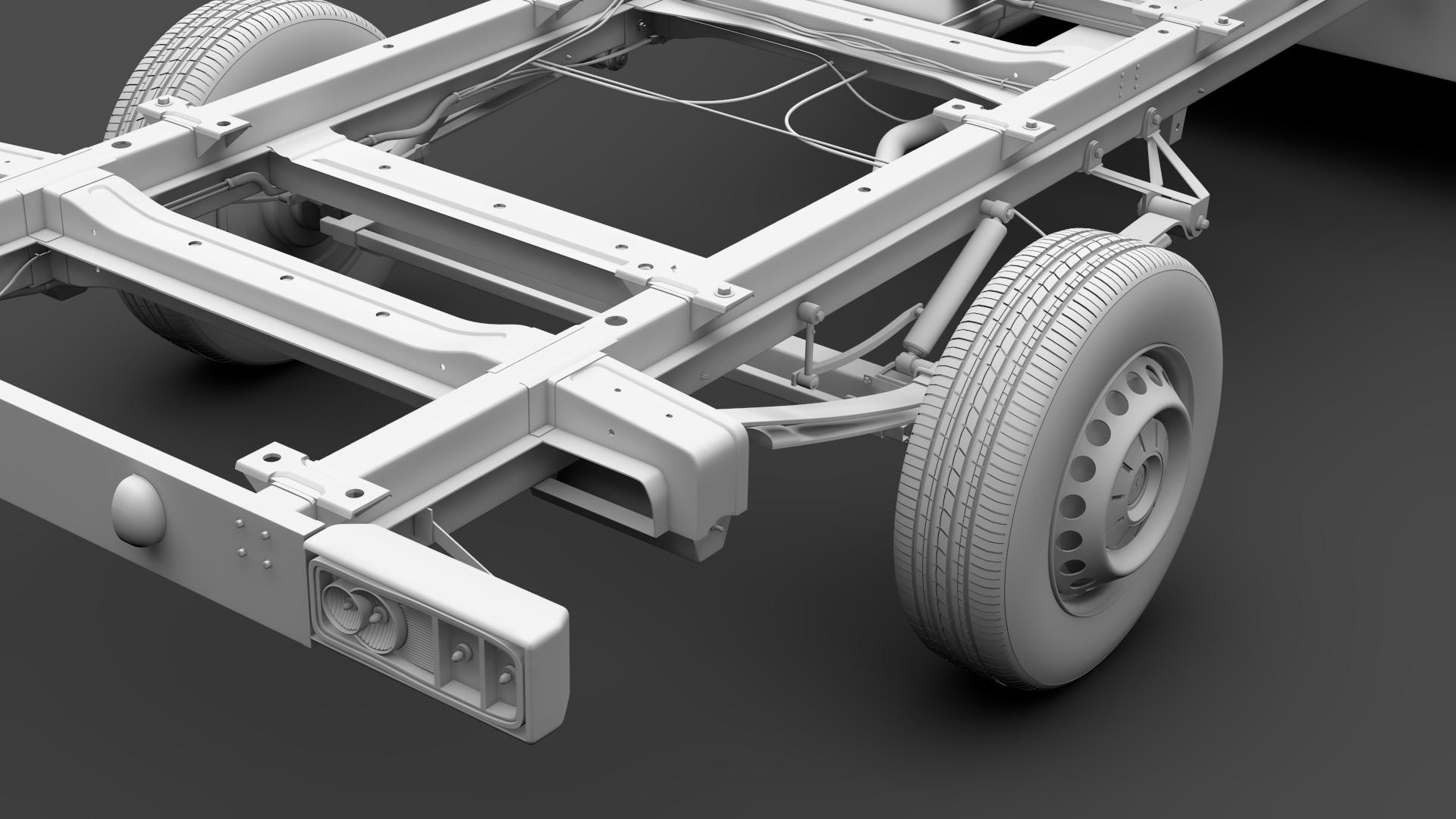 wv crafter chassis single-cab 2017 3d model max fbx c4d lwo ma mb hrc xsi obj 275102