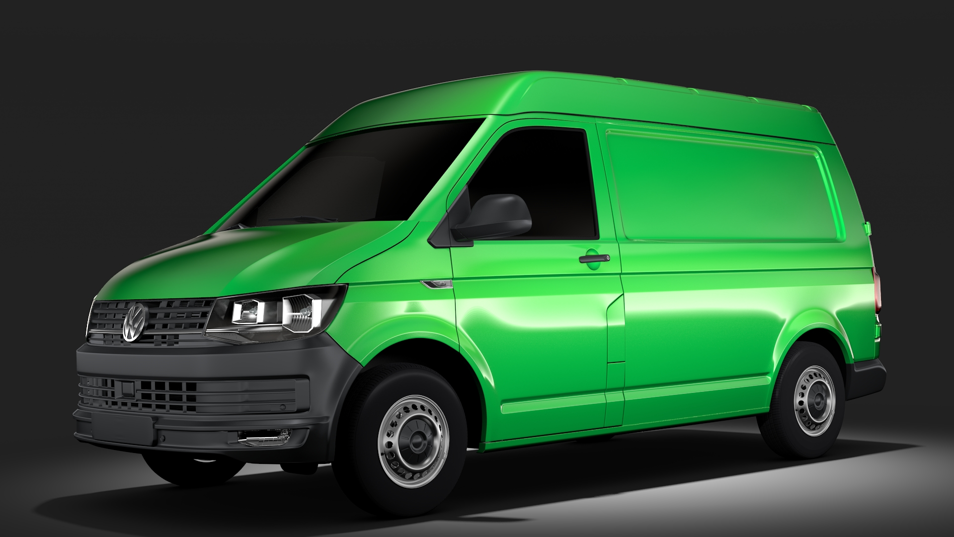 volkswagen transporter van l1h2 t6 2017 3d model max fbx c4d lwo ma mb hrc xsi obj 275147