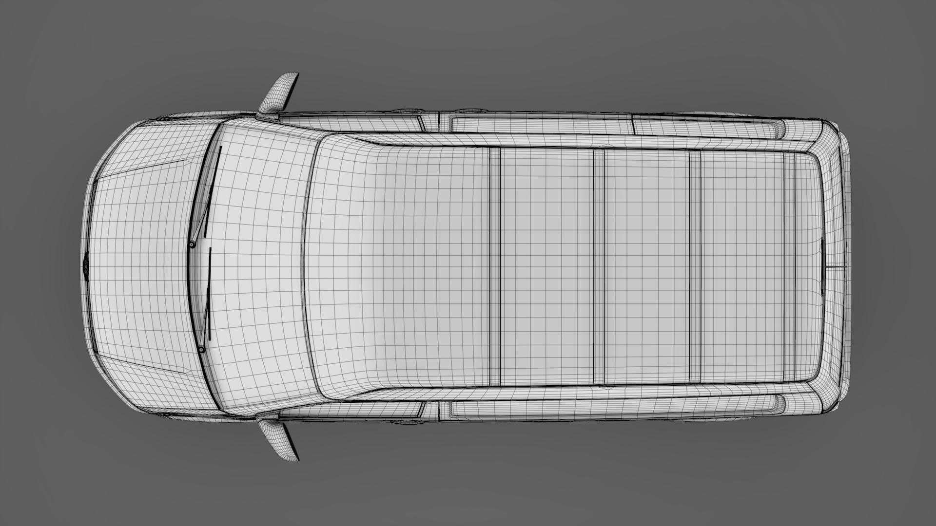 volkswagen transporter van l1h2 t6 2017 3d model max fbx c4d lwo ma mb hrc xsi obj 275163