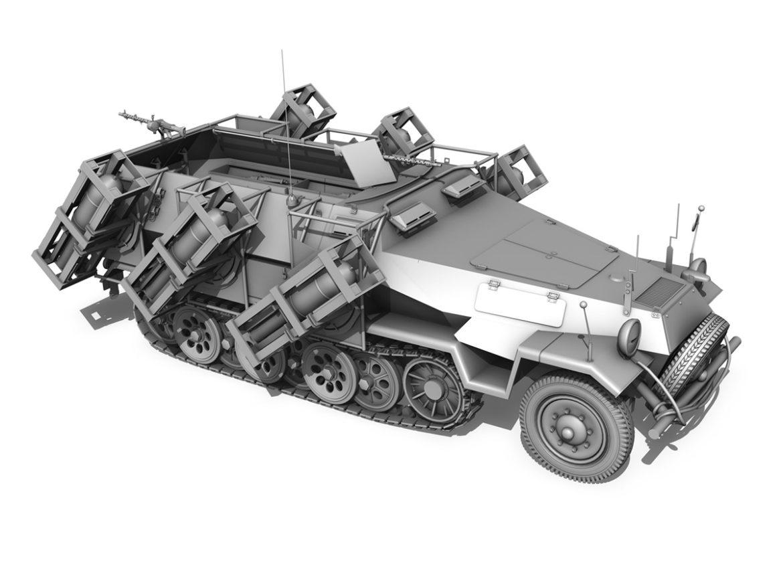 SD.KFZ 251/1 Ausf.B - Walking Stuka - 11PD 3d model 0