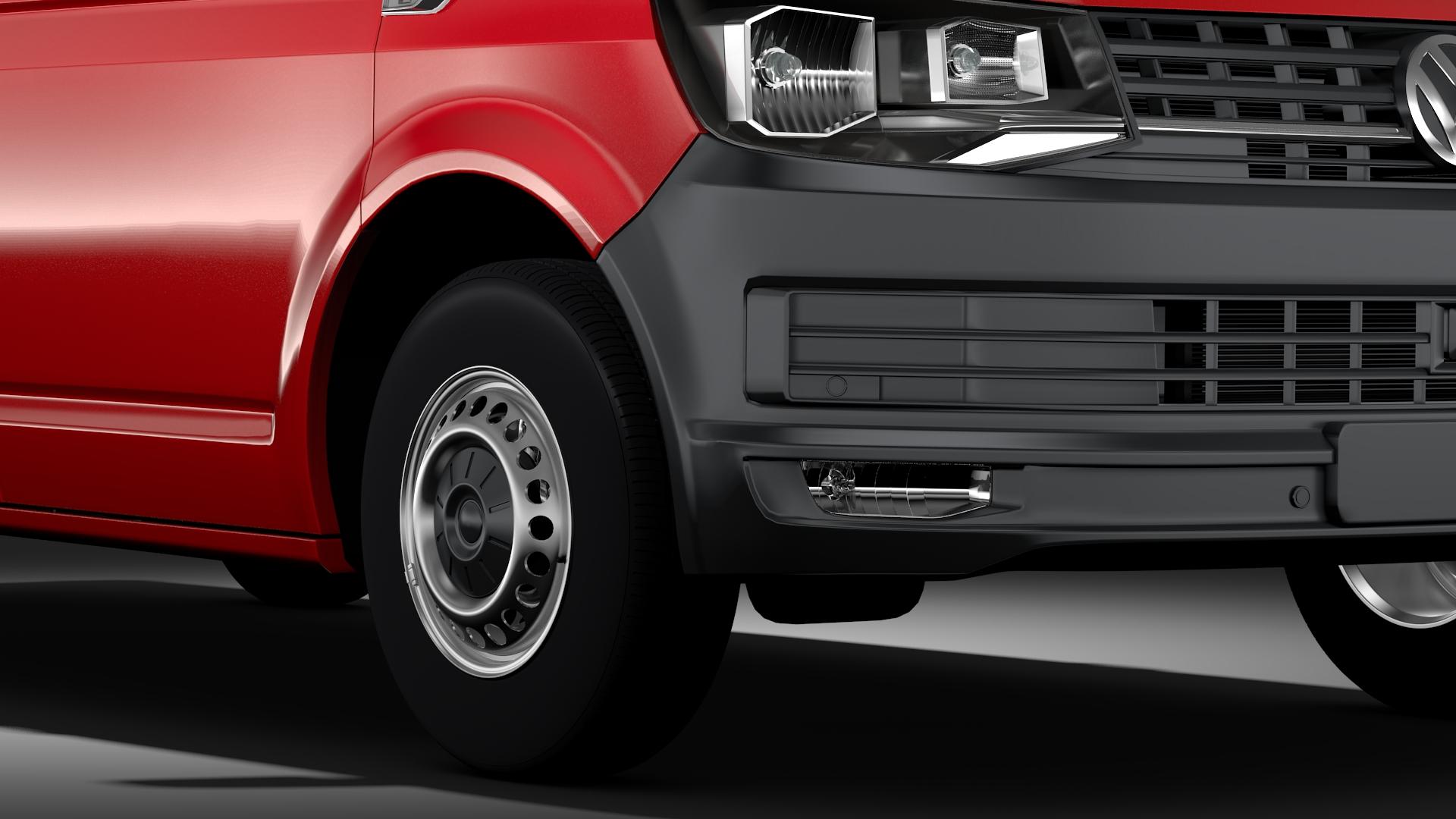 volkswagen nəqliyyat vasitəsi van l2h1 t6 2017 3d model max fbx c4d lwo ma mb hrc xsi obj 275233