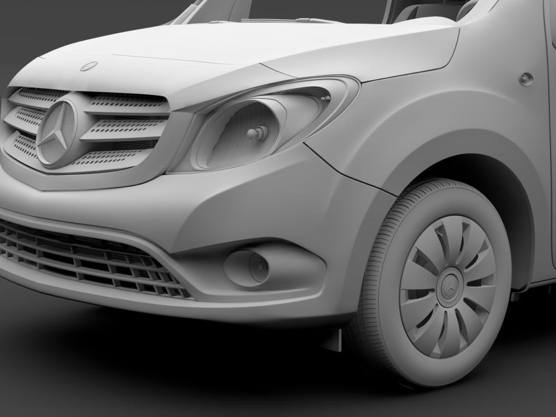 Mercedes Benz Citan Van L1 2017 3d model 0
