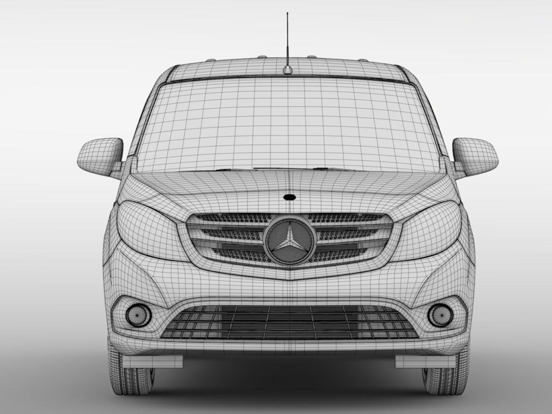 Mercedes Benz Citan Van L1 2017 3d model high poly max fbx c4d lwo lws lw ma mb  obj