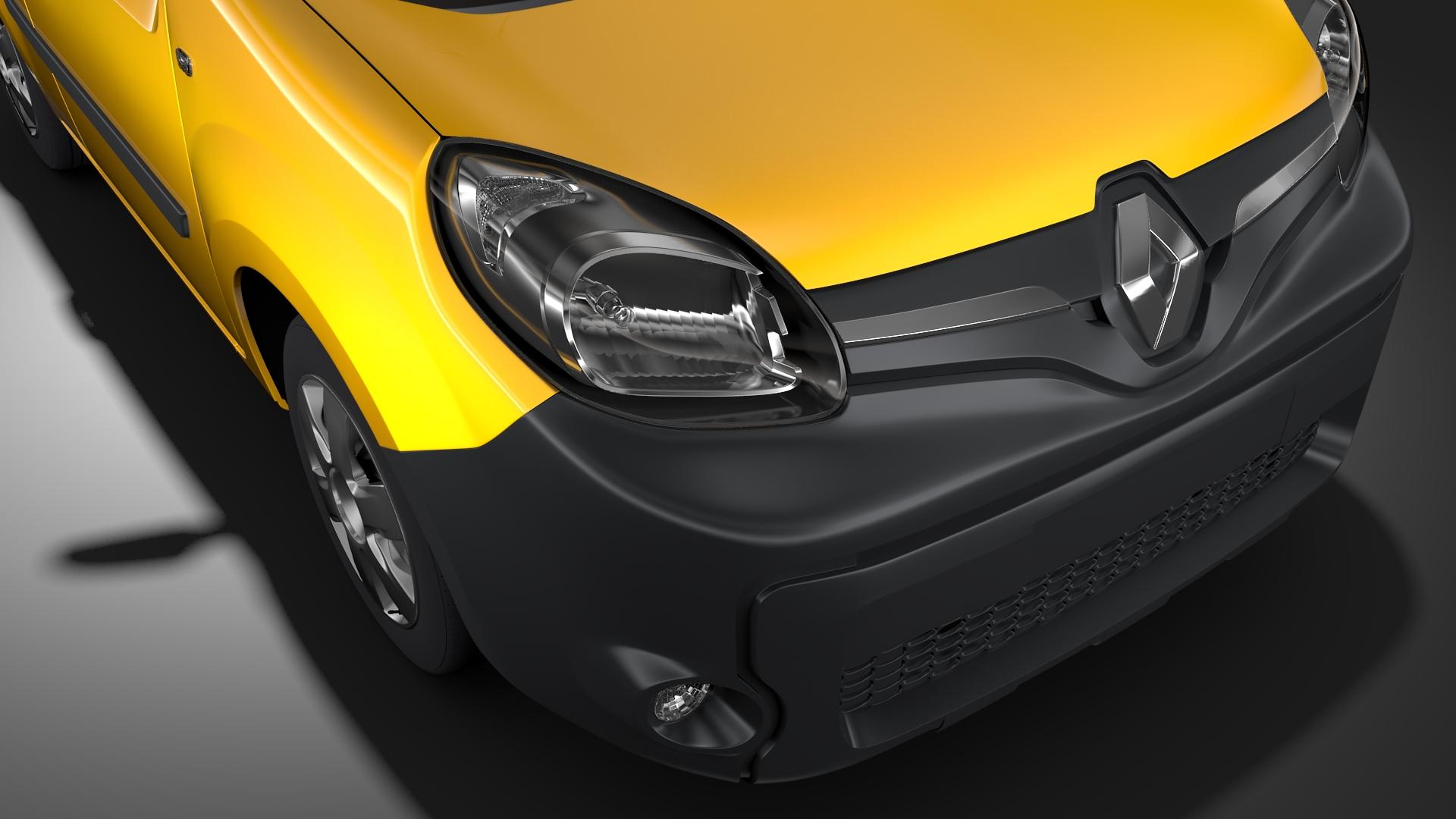 renault kangoo van 2017 l1 2017 3d model maks.