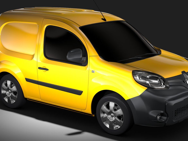 Renault Kangoo Van 2017 L1 2017 3d model high poly max fbx c4d lwo lws lw ma mb  obj
