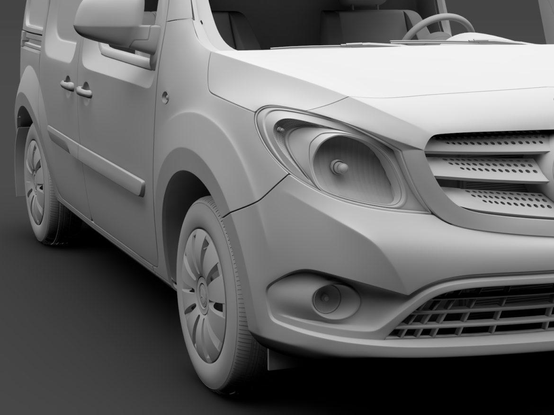 Mercedes Benz Citan Van L2 2017 3d model high poly max fbx c4d lwo lws lw ma mb  obj