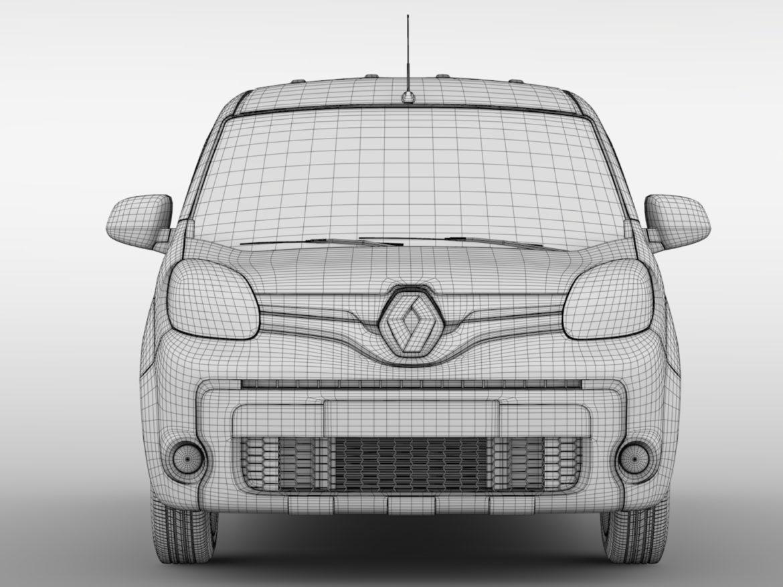 Renault Kangoo Van L2 2017 3d model 0