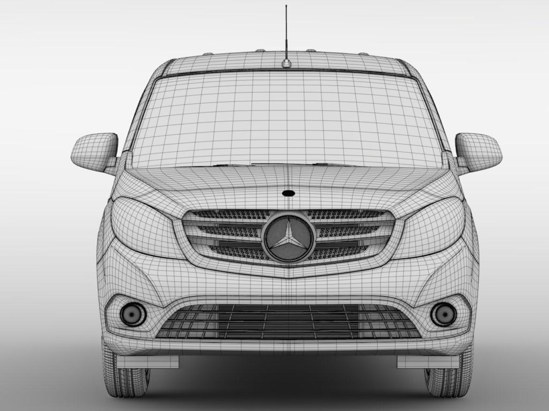 Mercedes Benz Citan Van L3 2017 3d model 0