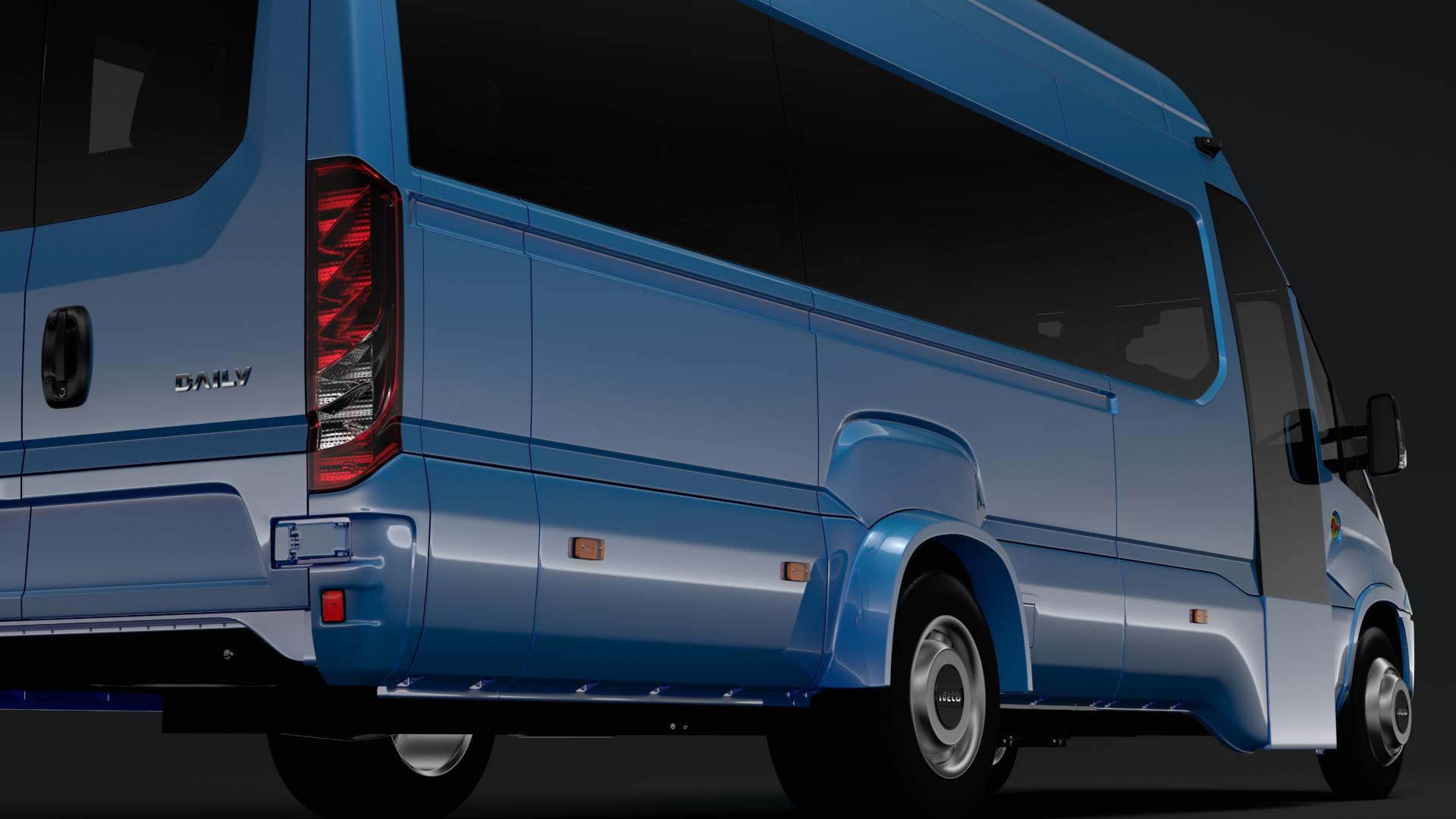 iveco daily tourus l5h3 2017 3d model max fbx c4d lwo ma mb hrc xsi obj 275628