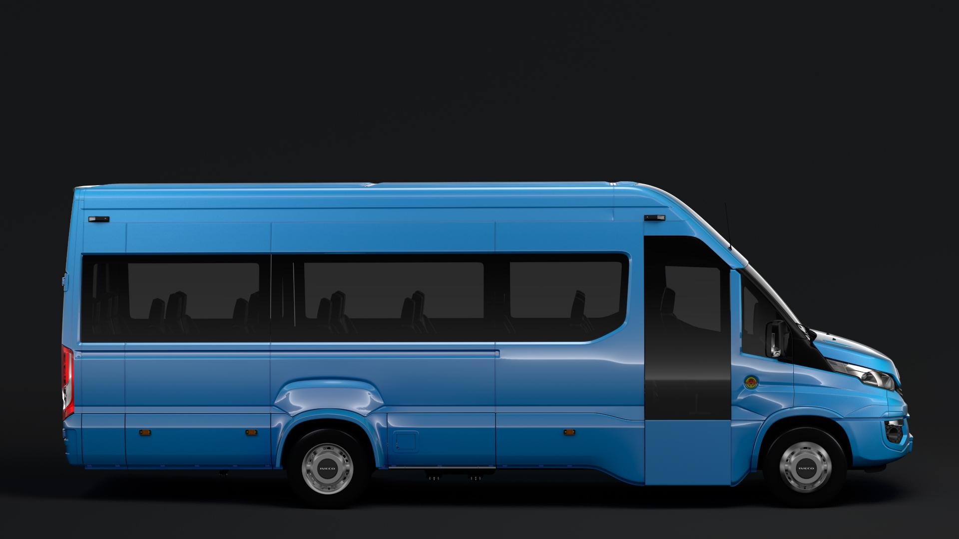 iveco daily tourus l5h3 2017 3d model max fbx c4d lwo ma mb hrc xsi obj 275630