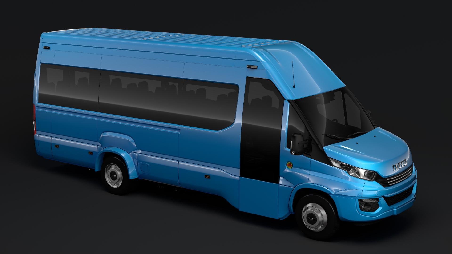 iveco daily tourus l5h3 2017 3d model max fbx c4d lwo ma mb hrc xsi obj 275631