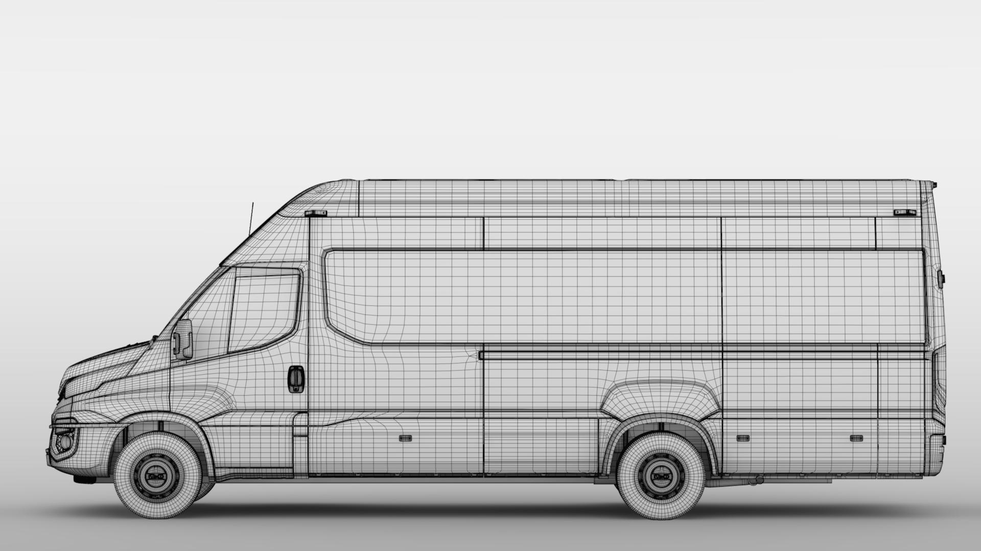 iveco daily tourus l5h3 2017 3d model max fbx c4d lwo ma mb hrc xsi obj 275635