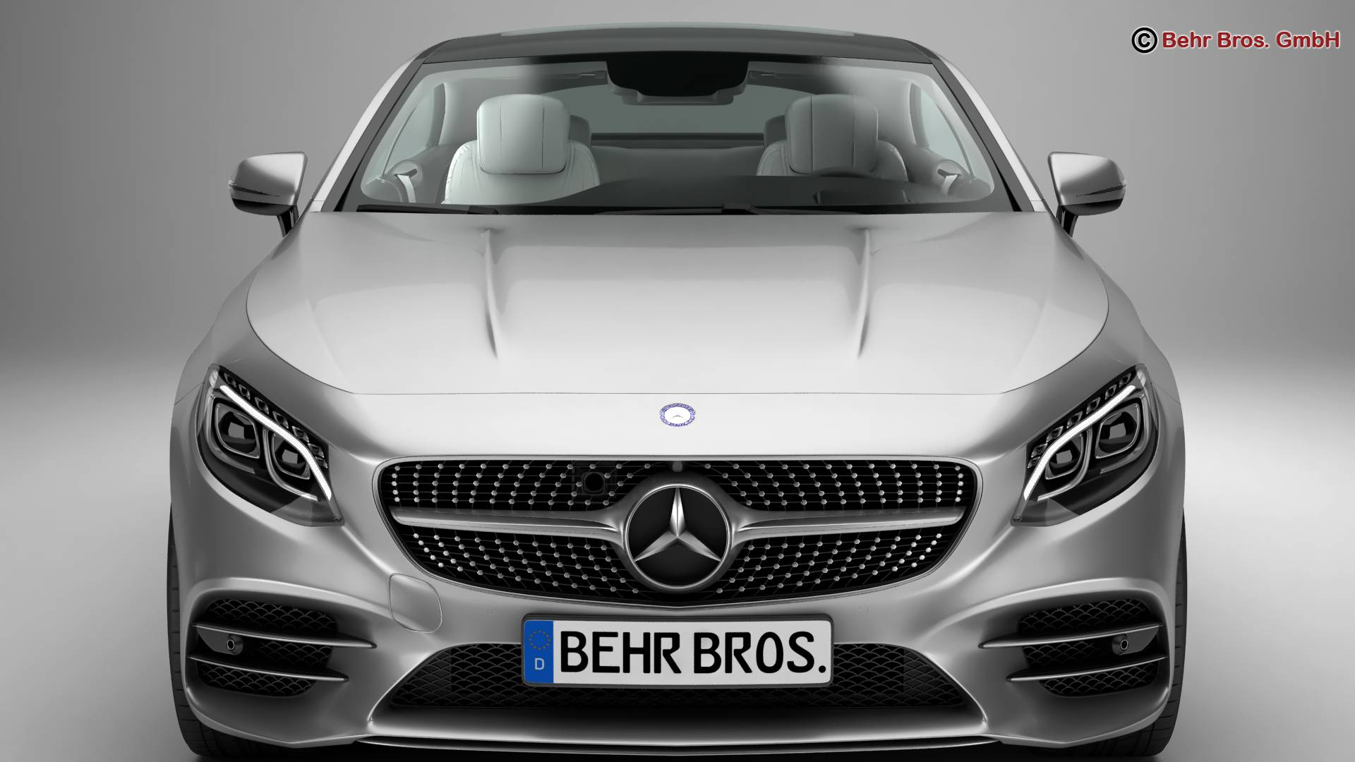 mercedes s class coupe amg line 2018 3d model 3ds max fbx c4d lwo ma mb obj 275664