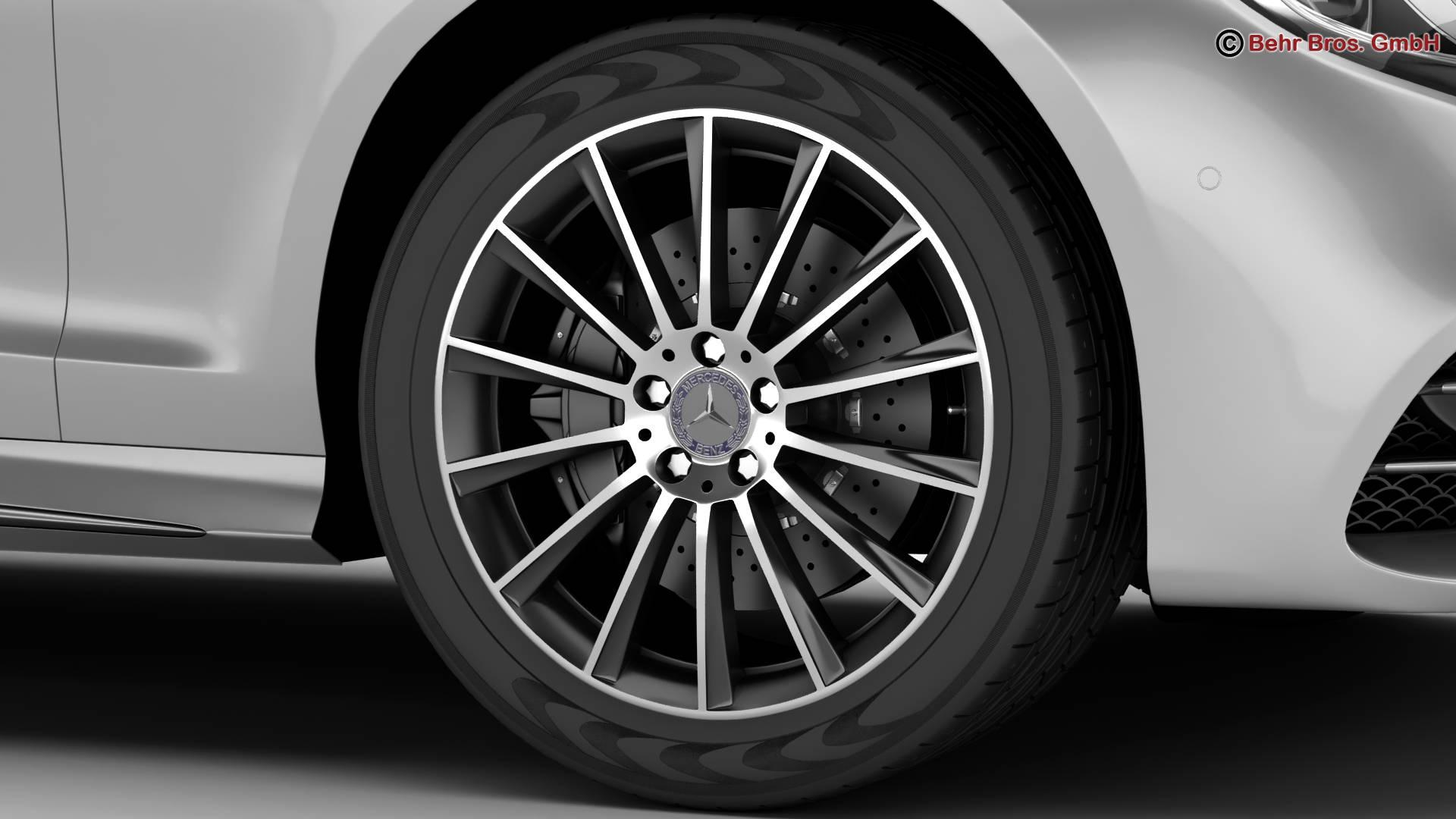 mercedes s class coupe amg line 2018 3d model 3ds max fbx c4d lwo ma mb obj 275666