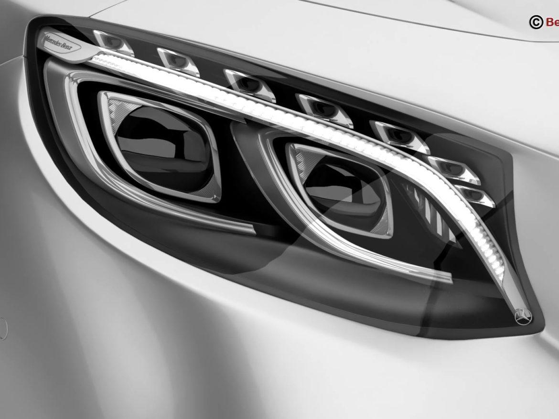 Mercedes S Class Coupe AMG Line 2018 3d model 0