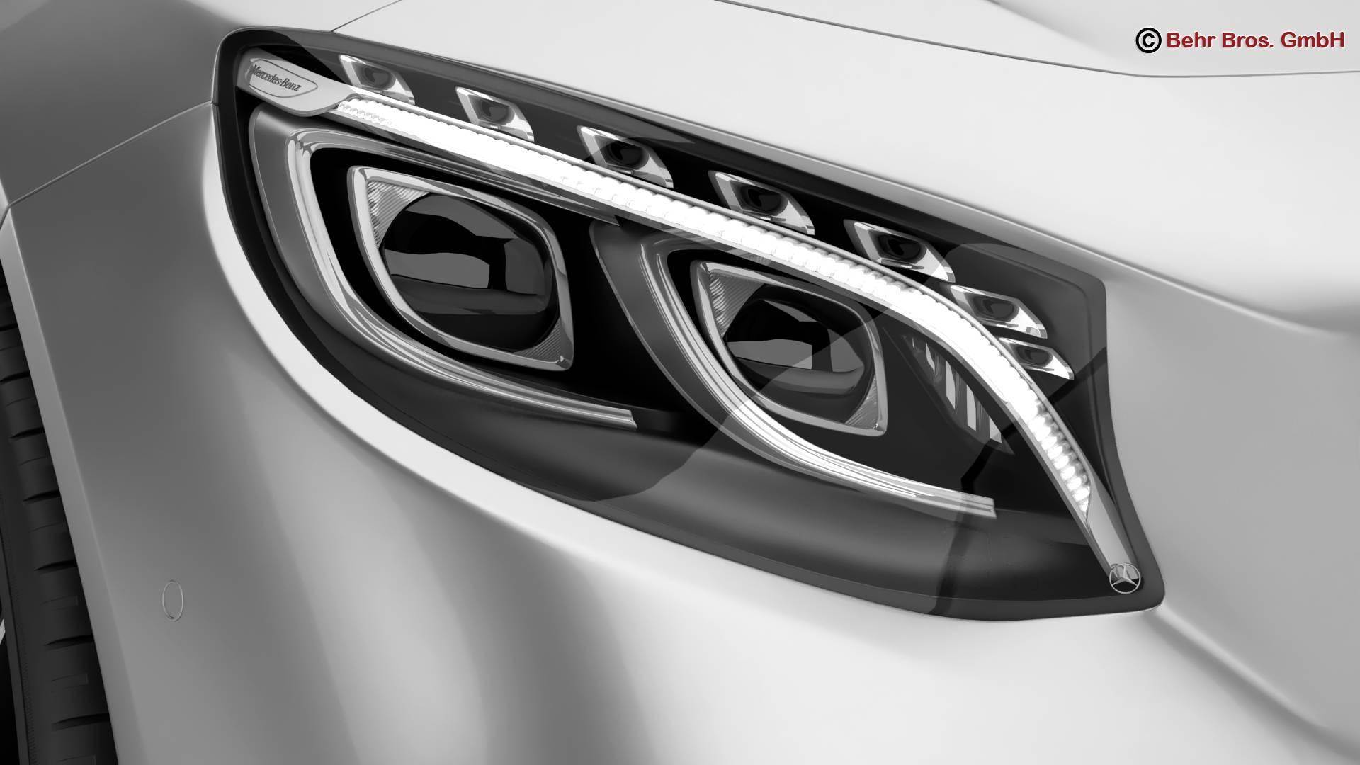 mercedes s class coupe amg line 2018 3d model 3ds max fbx c4d lwo ma mb obj 275667