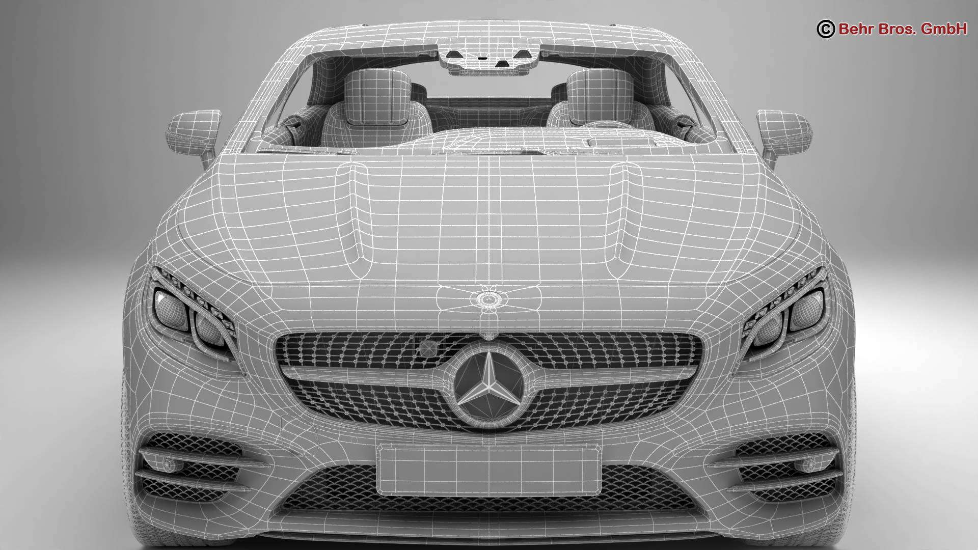 mercedes s class coupe amg line 2018 3d model 3ds max fbx c4d lwo ma mb obj 275679