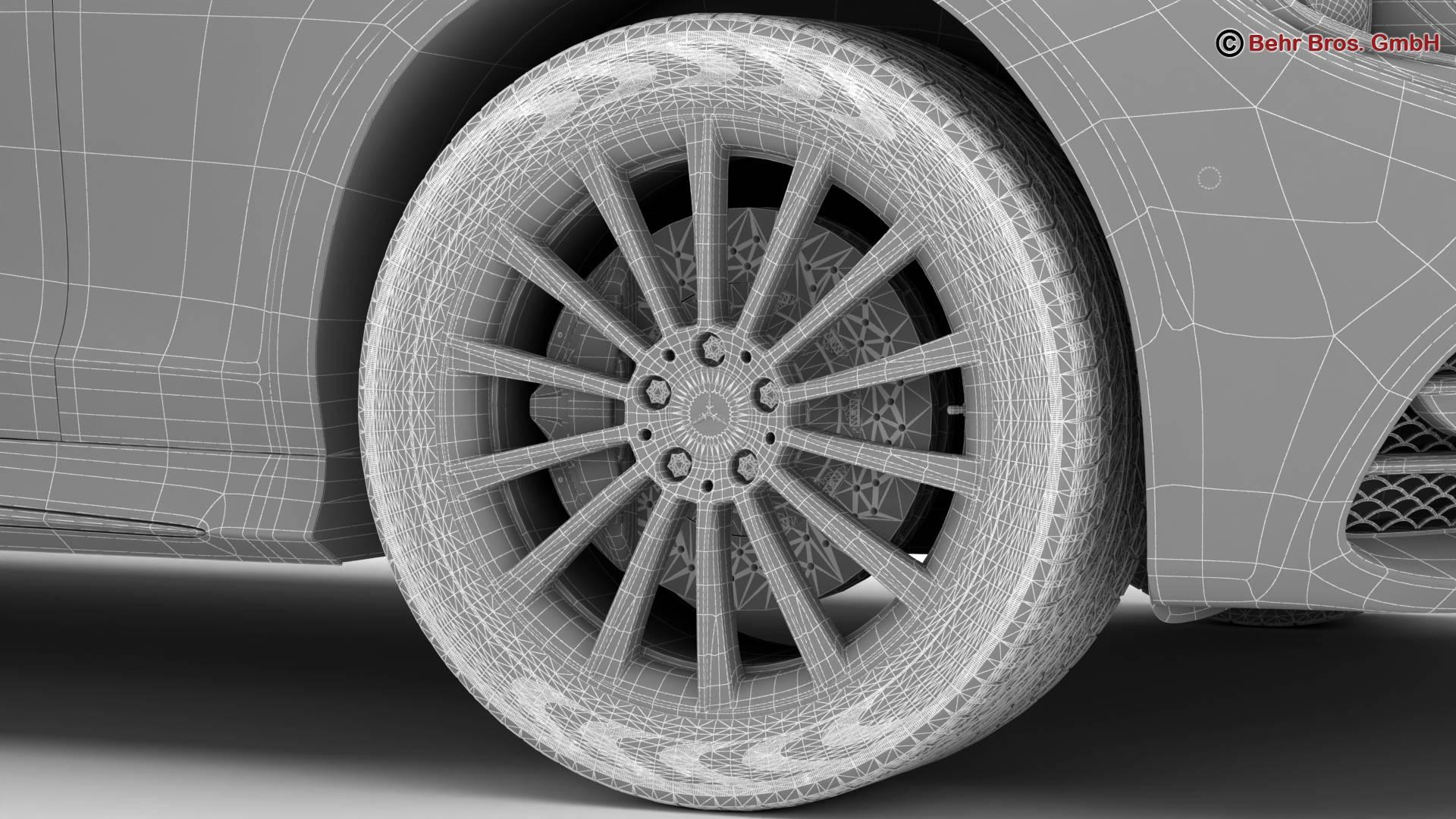 mercedes s class coupe amg line 2018 3d model 3ds max fbx c4d lwo ma mb obj 275681
