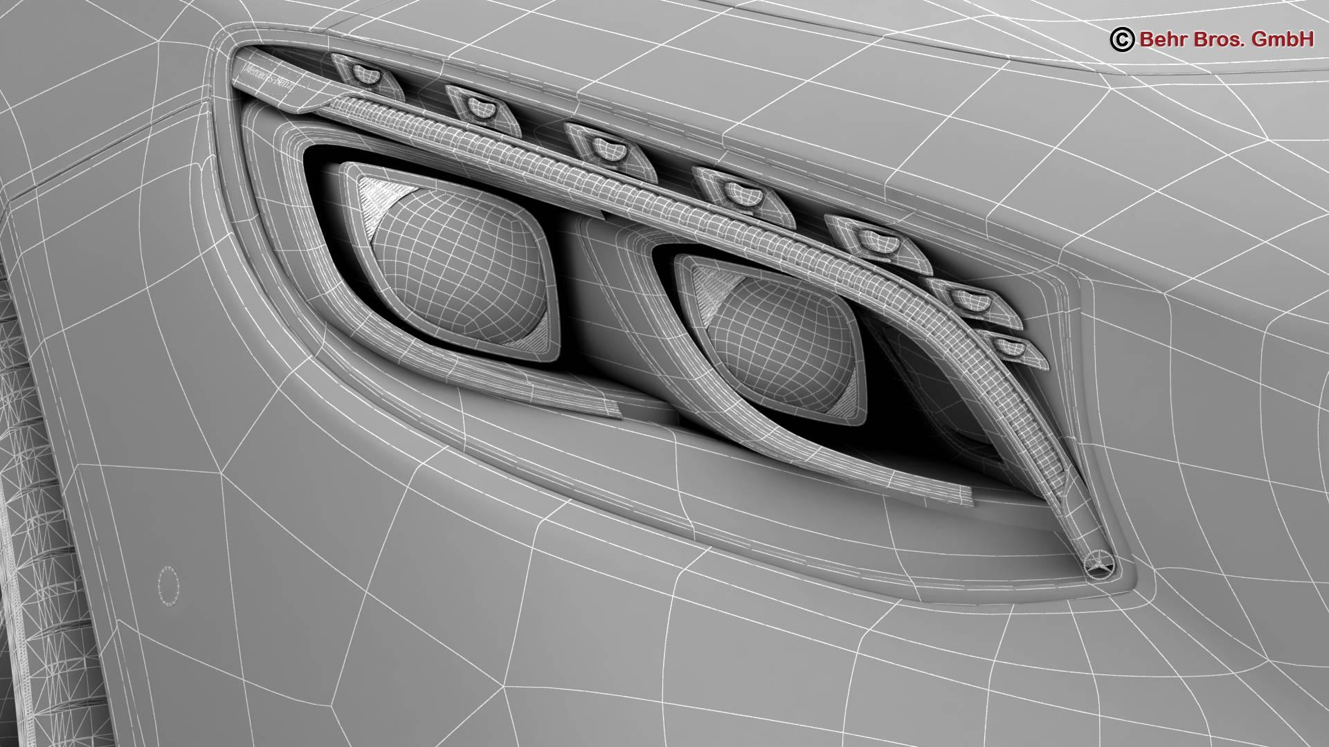 mercedes s class coupe amg line 2018 3d model 3ds max fbx c4d lwo ma mb obj 275682