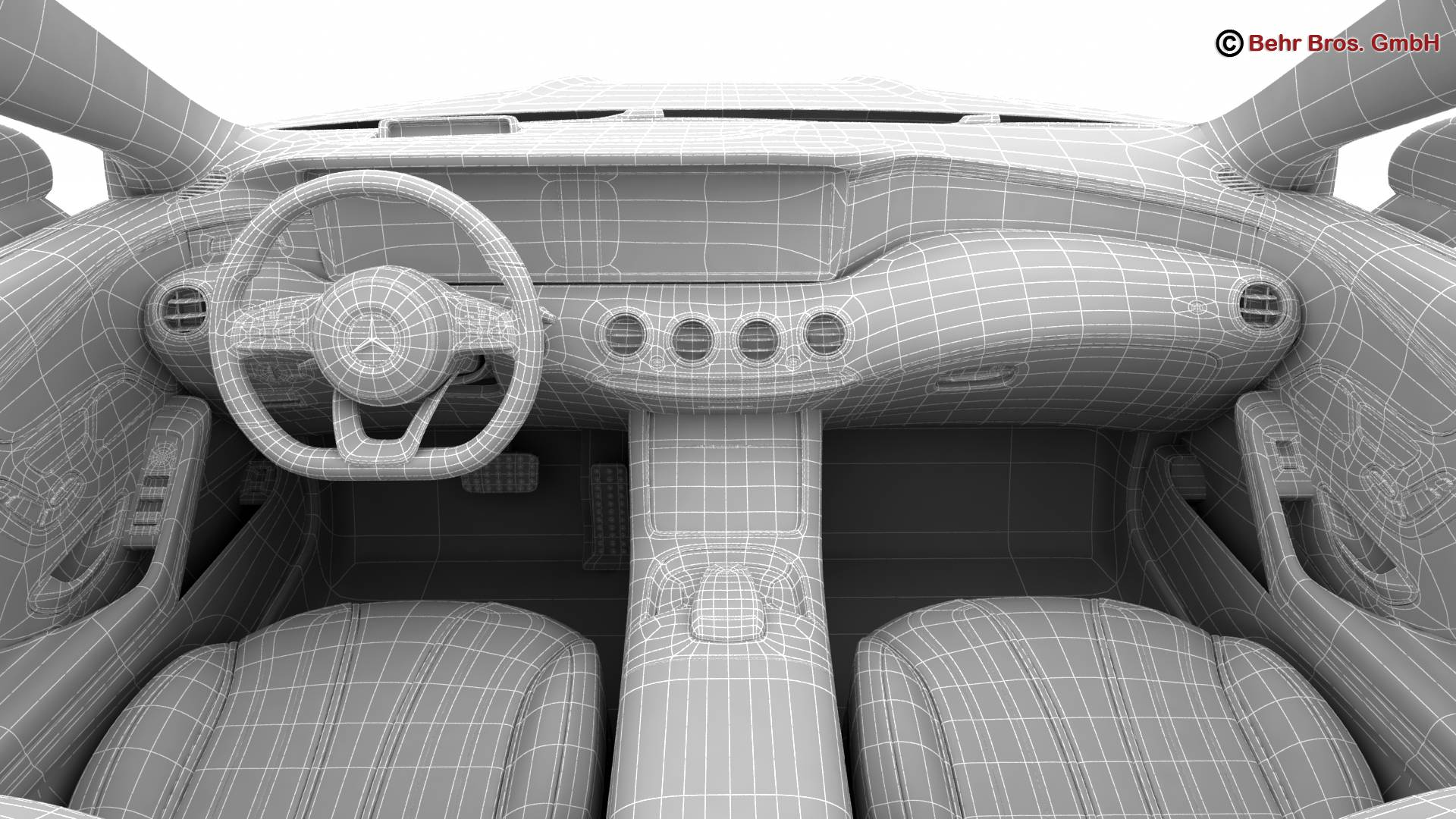 mercedes s class coupe amg line 2018 3d model 3ds max fbx c4d lwo ma mb obj 275686