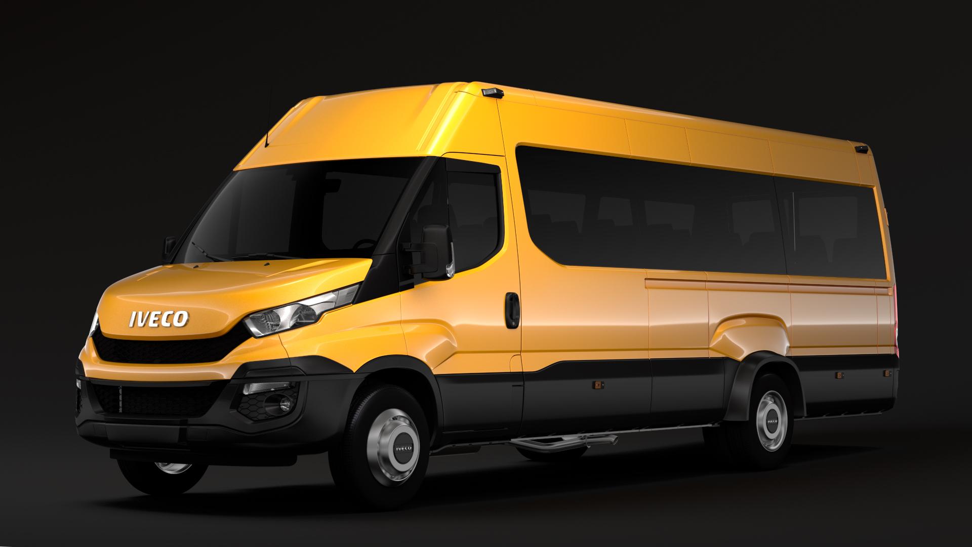 iveco daily tourus l5h2 2014 2016 3d model max fbx c4d lwo ma mb hrc xsi obj 275796