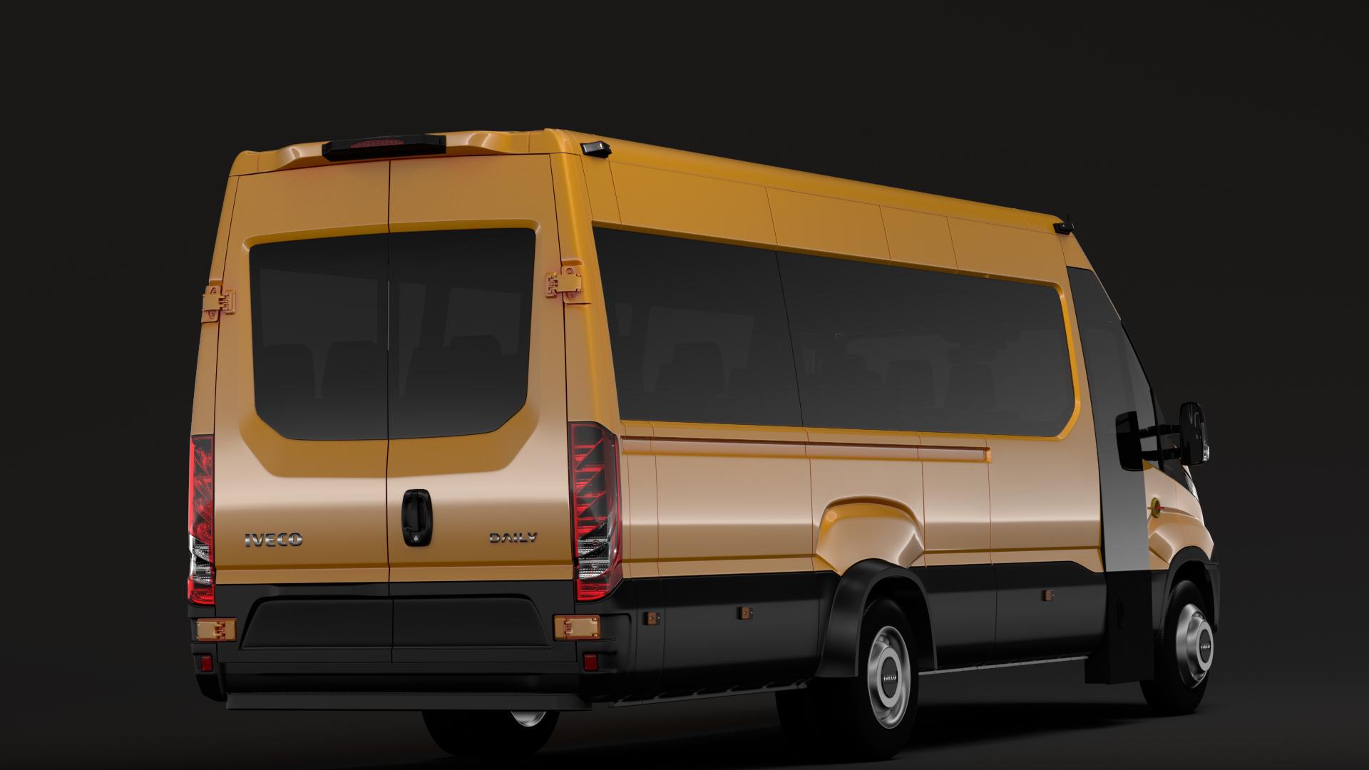 iveco daily tourus l5h2 2014 2016 3d model max fbx c4d lwo ma mb hrc xsi obj 275801