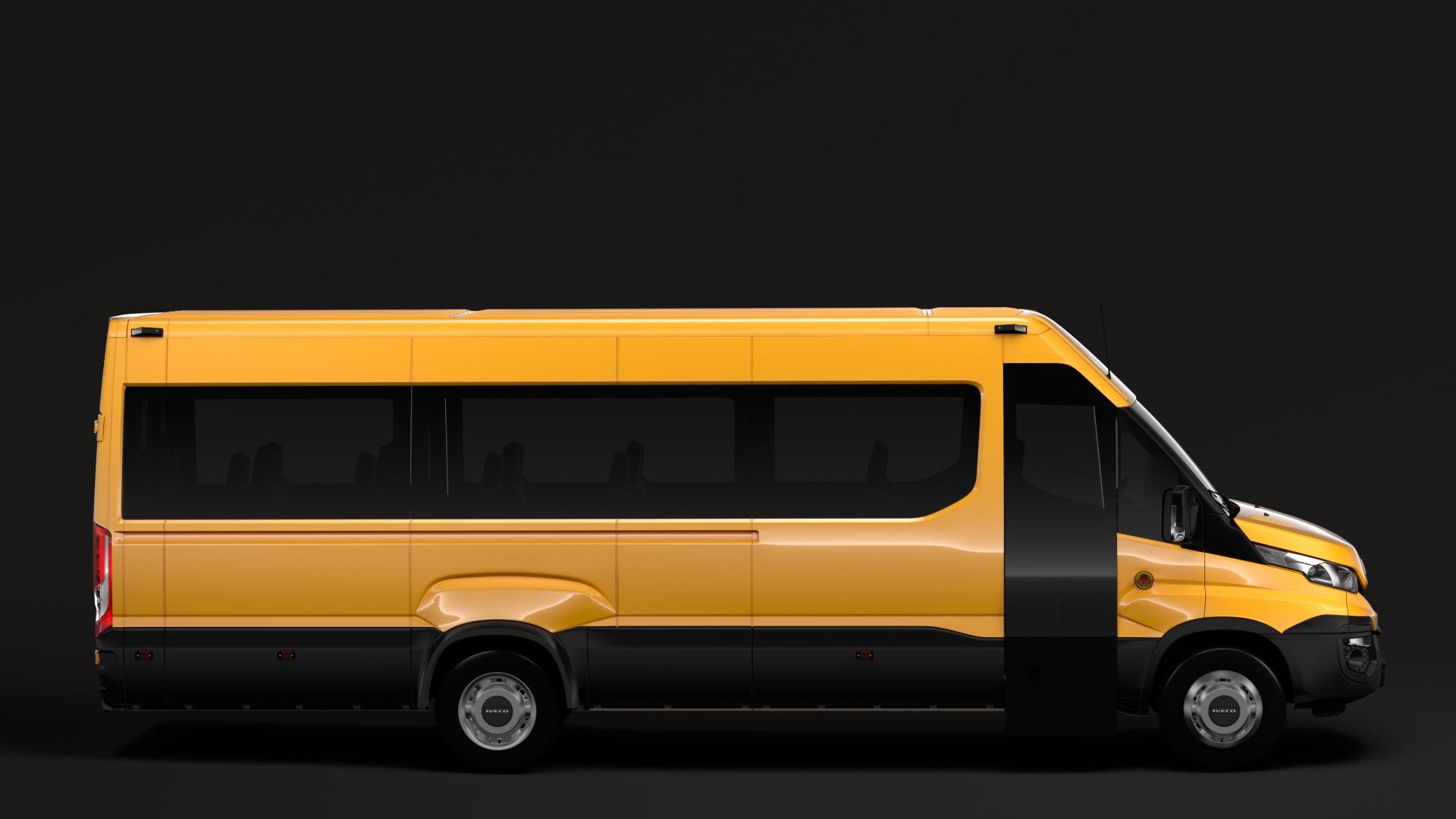 iveco daily tourus l5h2 2014 2016 3d model max fbx c4d lwo ma mb hrc xsi obj 275804