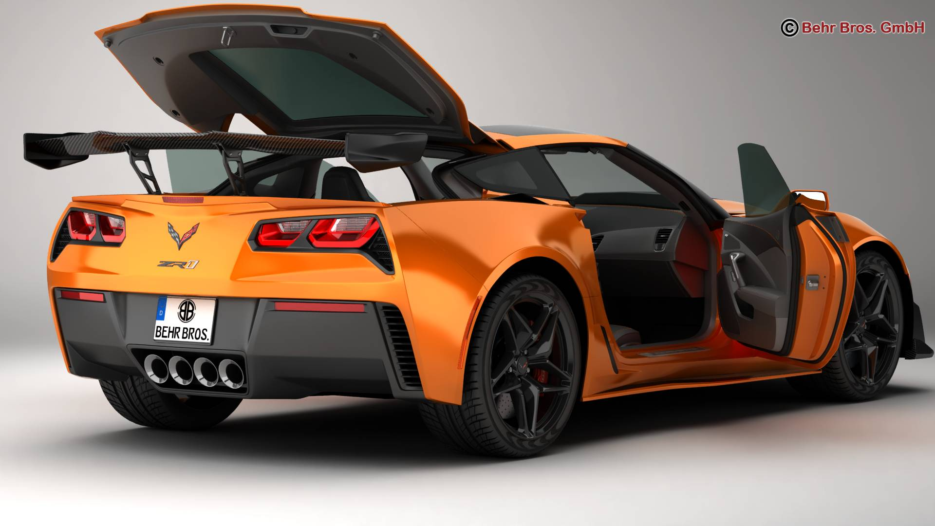 Chevrolet Corvette ZR1 2019