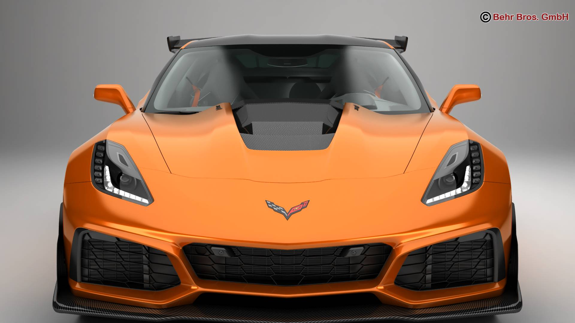 chevrolet corvette zr1 2019 3d model 3ds max fbx c4d lwo ma mb obj 275972