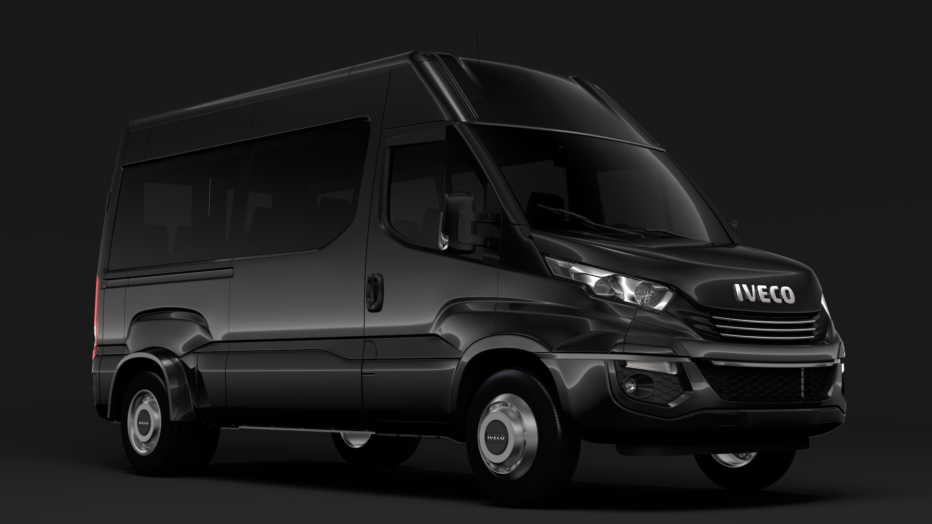 iveco daily minibus l2h2 2017 3d model max fbx c4d lwo ma mb hrc xsi obj 276009