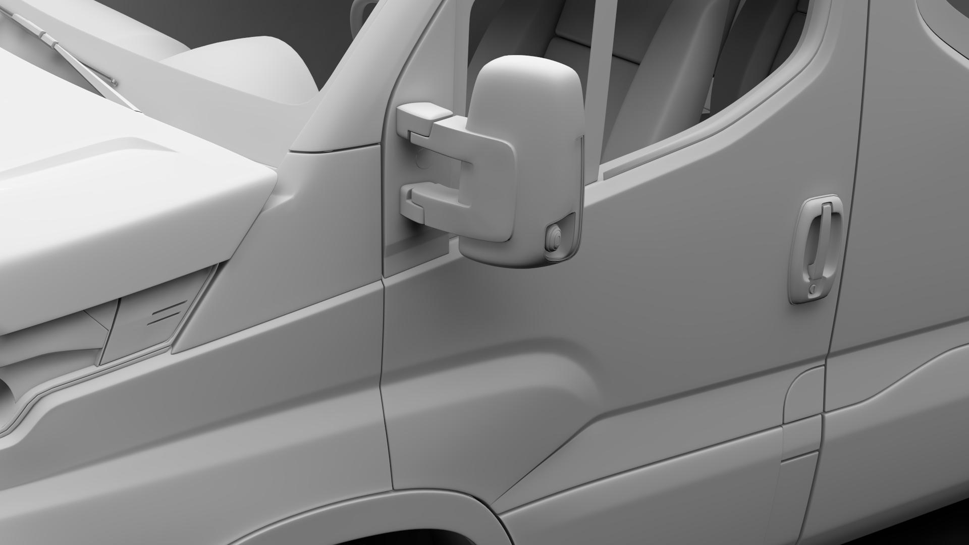 iveco daily minibus l2h2 2017 3d model max fbx c4d lwo ma mb hrc xsi obj 276021