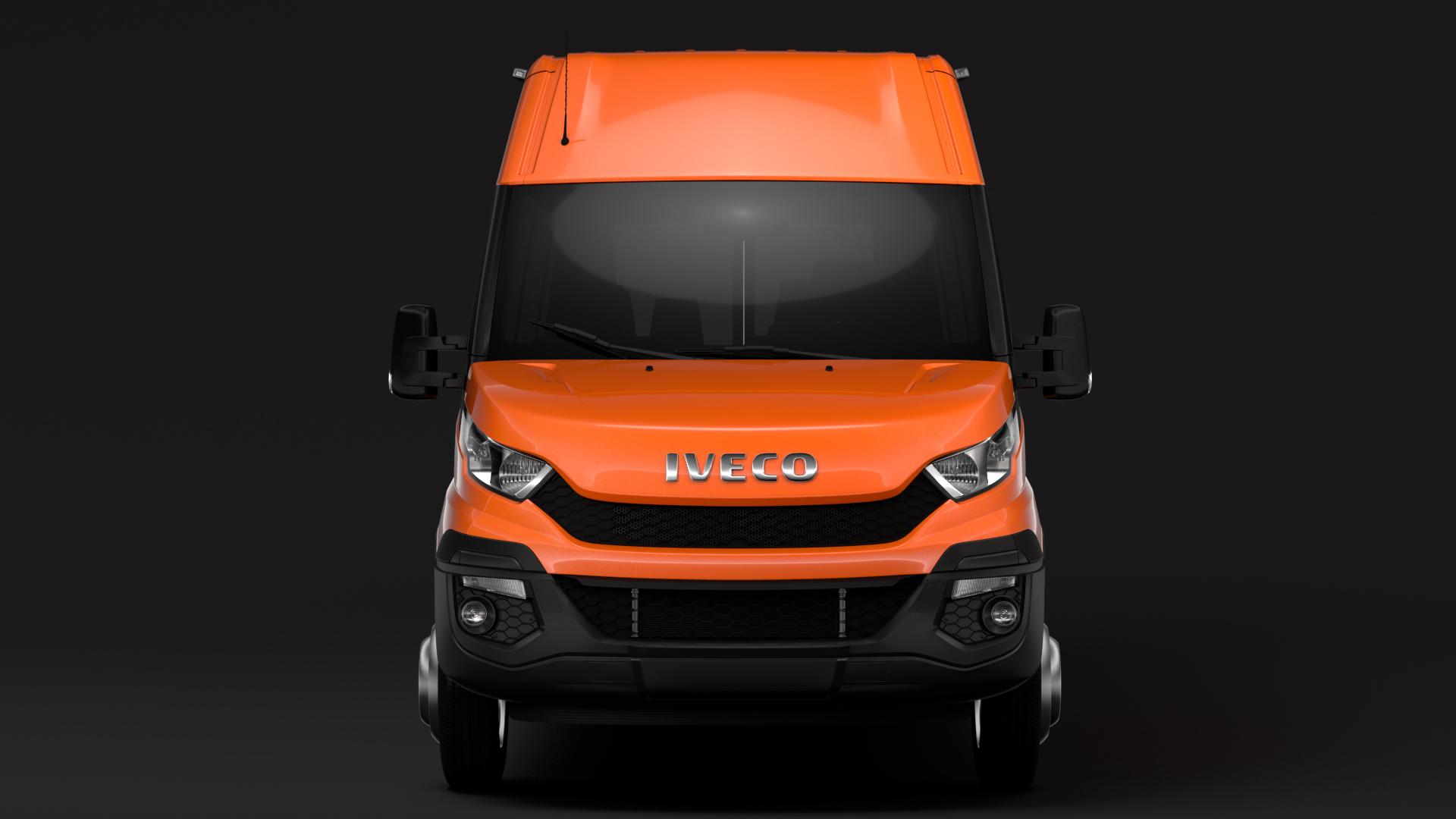 iveco daily minibus l3h2 2014-2016 3d model max fbx c4d lwo ma mb hrc xsi obj 276041
