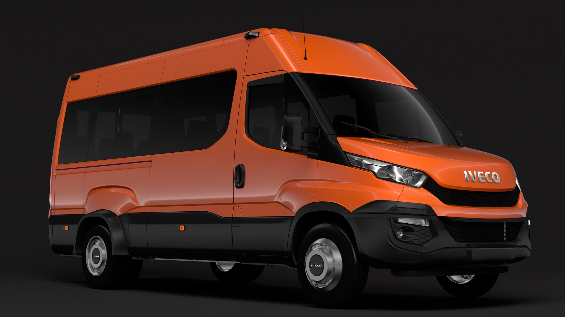 iveco daily minibus l3h2 2014-2016 3d model max fbx c4d lwo ma mb hrc xsi obj 276043