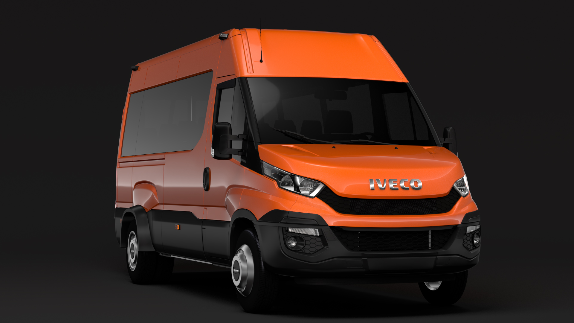 iveco daily minibus l3h2 2014-2016 3d model max fbx c4d lwo ma mb hrc xsi obj 276044