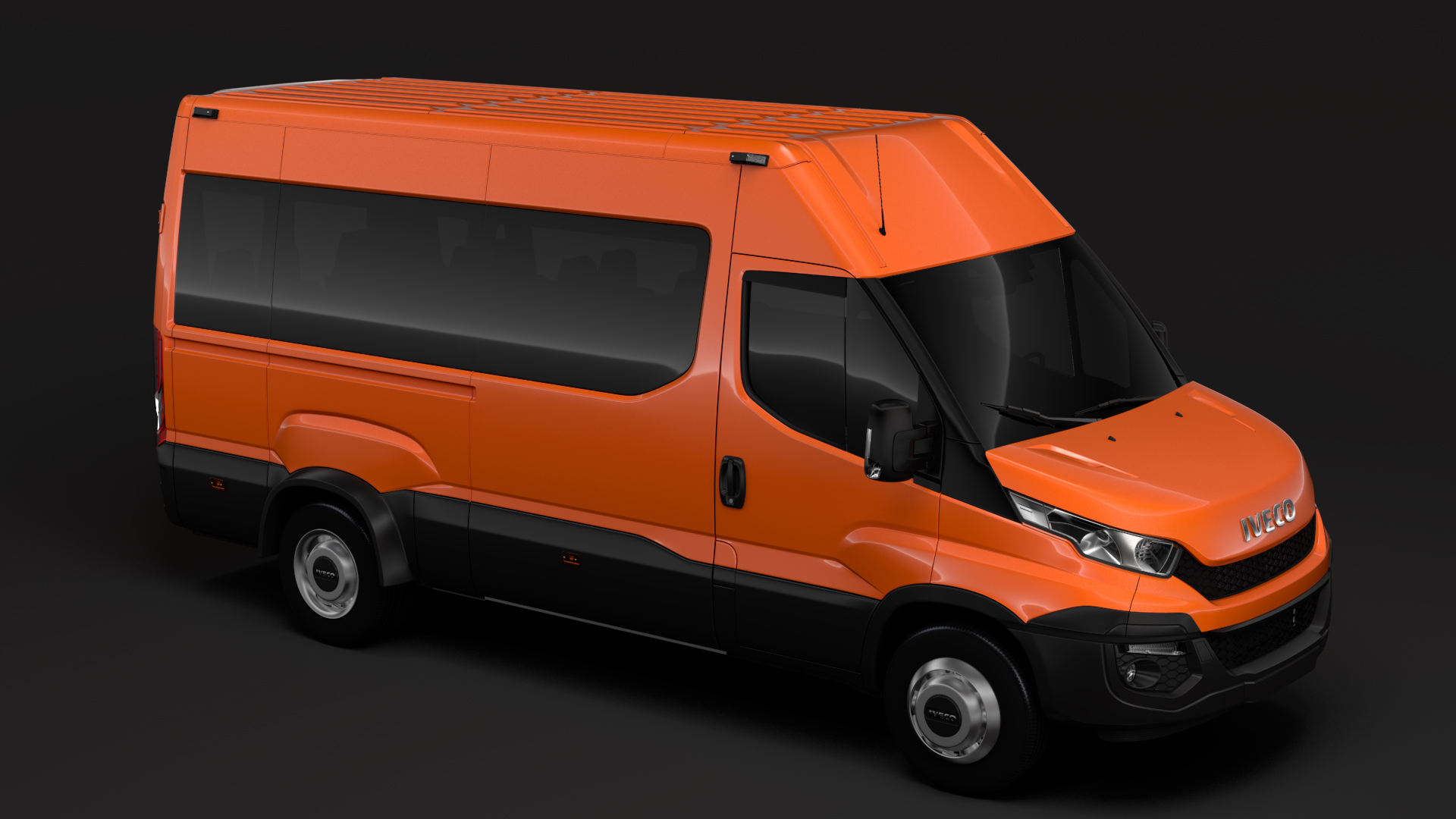 iveco daily minibus l3h2 2014-2016 3d model max fbx c4d lwo ma mb hrc xsi obj 276050