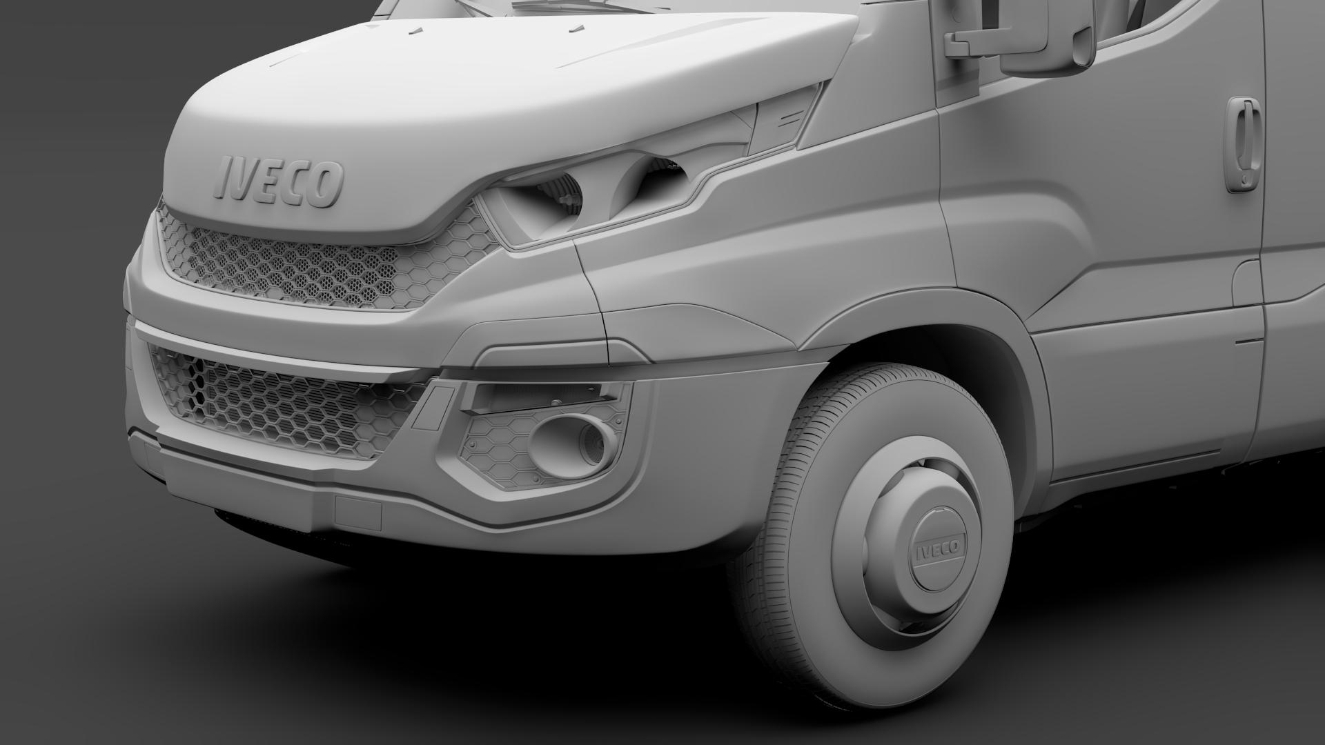 iveco daily minibus l3h2 2014-2016 3d model max fbx c4d lwo ma mb hrc xsi obj 276051