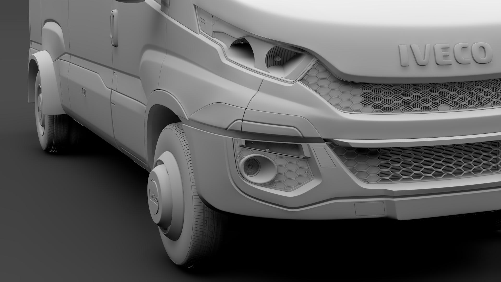 iveco daily minibus l3h2 2014-2016 3d model max fbx c4d lwo ma mb hrc xsi obj 276052