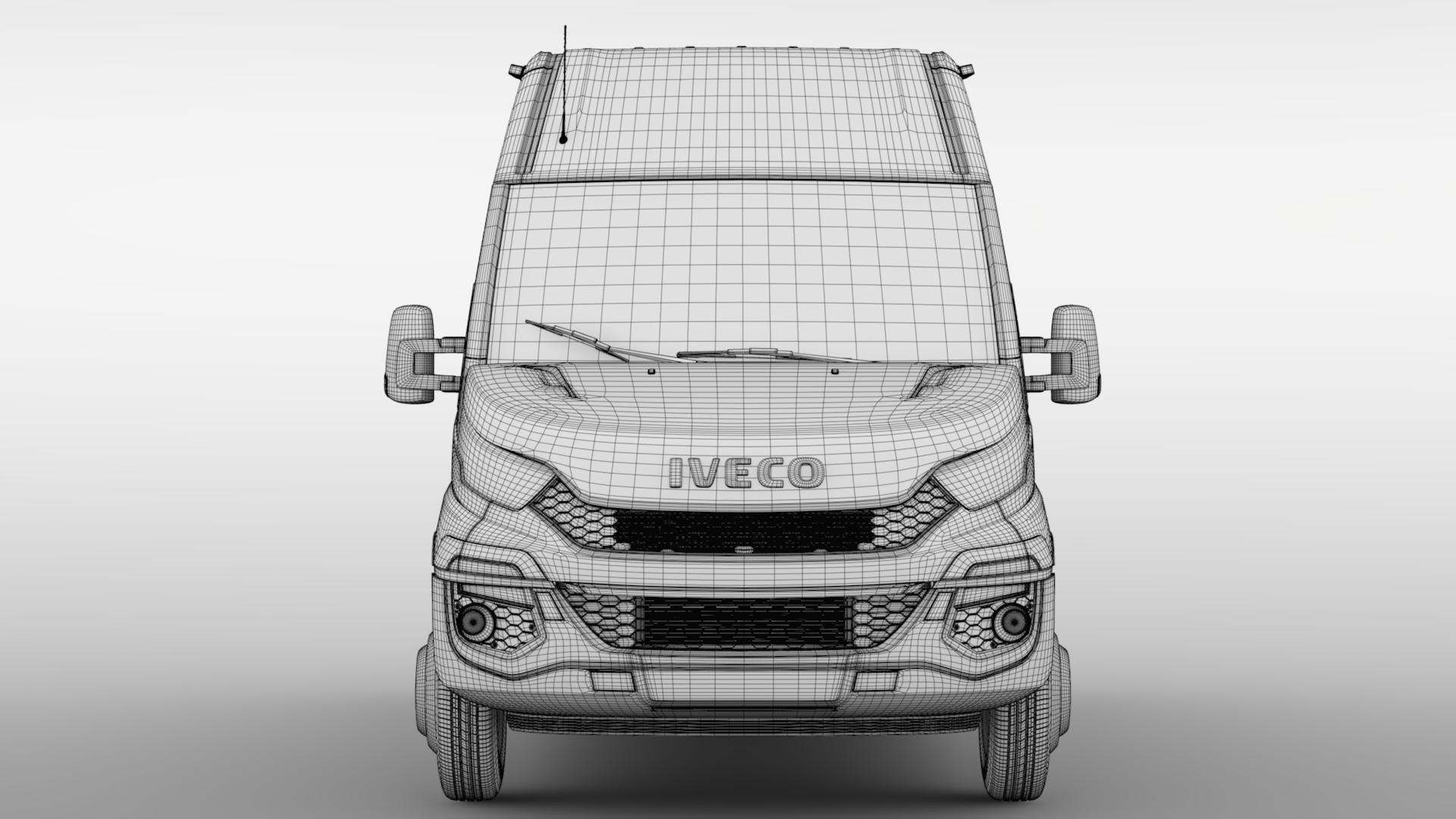 iveco daily minibus l3h2 2014-2016 3d model max fbx c4d lwo ma mb hrc xsi obj 276056