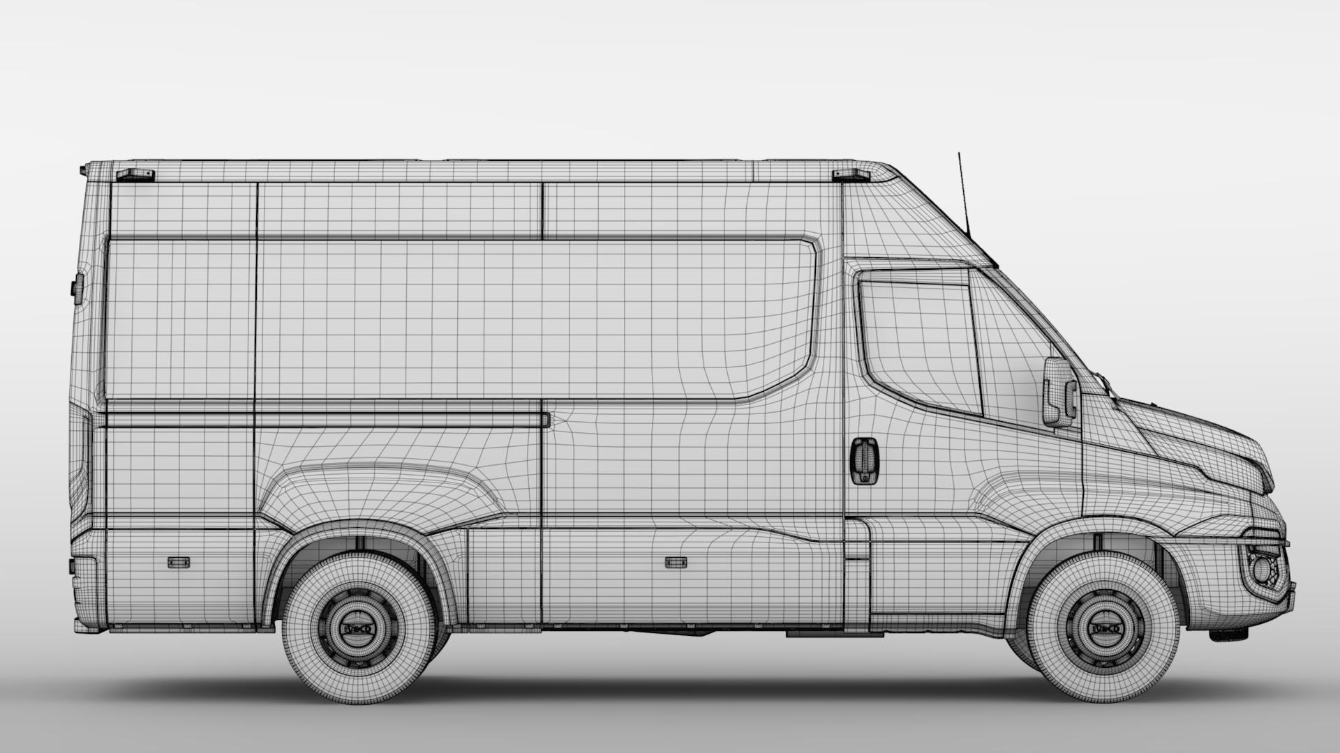 iveco daily minibus l3h2 2014-2016 3d model max fbx c4d lwo ma mb hrc xsi obj 276057