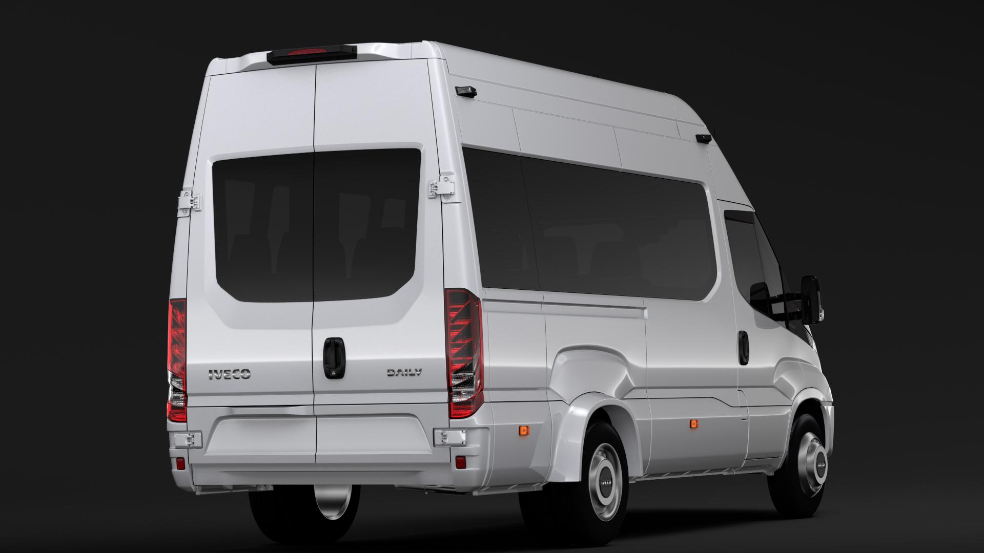 iveco daily minibus l3h3 2017 3d model max fbx c4d lwo ma mb hrc xsi obj 276146