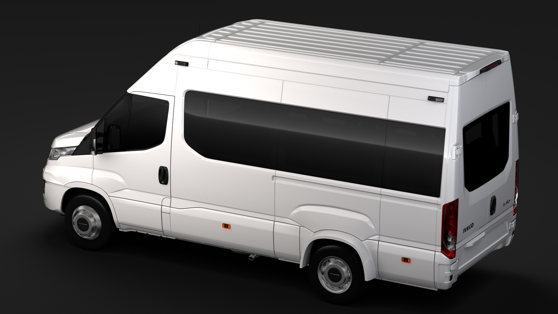 iveco daily minibus l3h3 2017 3d model max fbx c4d lwo ma mb hrc xsi obj 276147