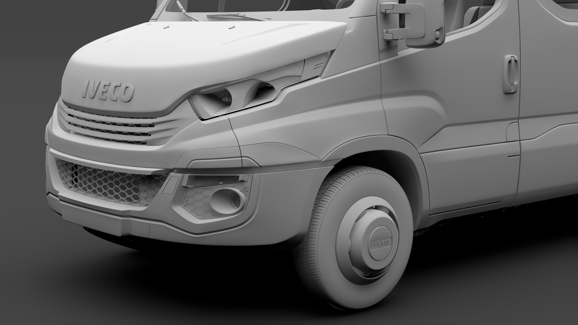 iveco daily minibus l3h3 2017 3d model max fbx c4d lwo ma mb hrc xsi obj 276152