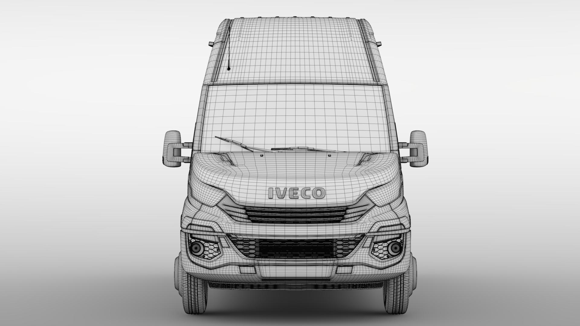 iveco daily minibus l3h3 2017 3d model max fbx c4d lwo ma mb hrc xsi obj 276157
