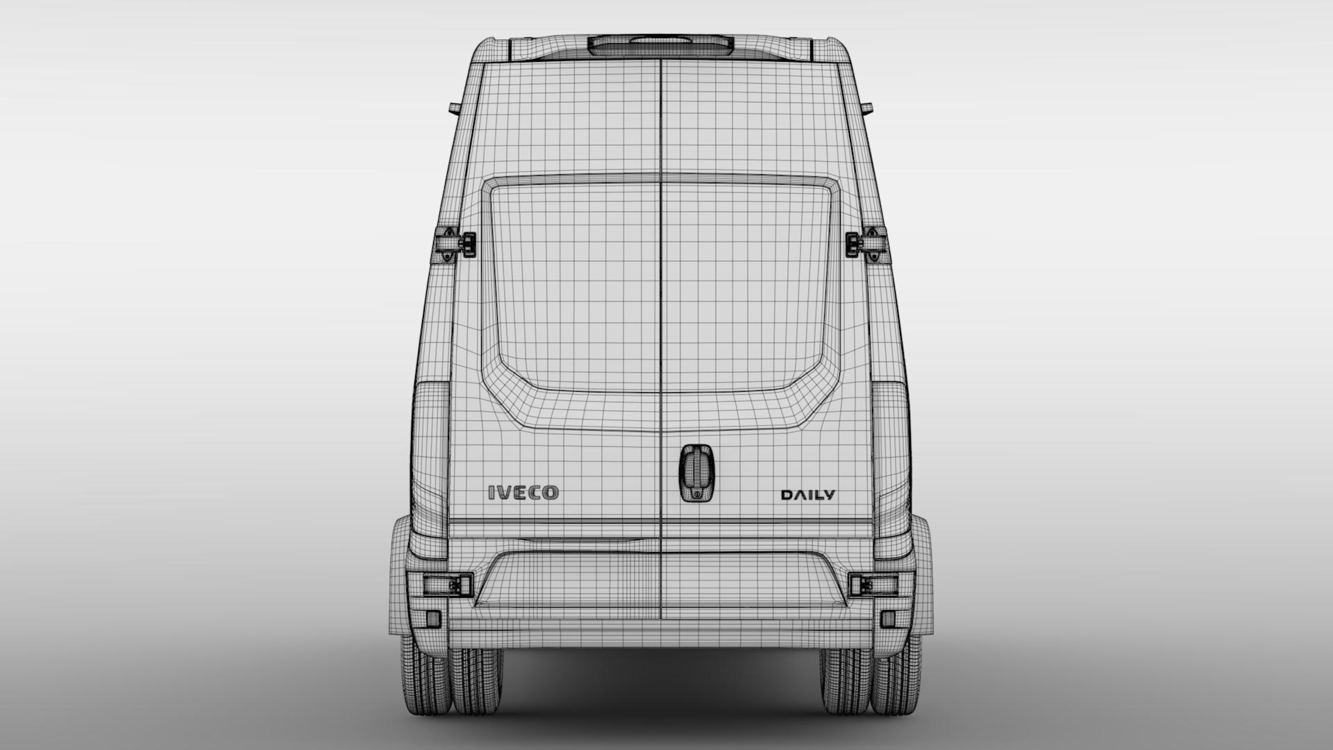 iveco daily minibus l3h3 2017 3d model max fbx c4d lwo ma mb hrc xsi obj 276158
