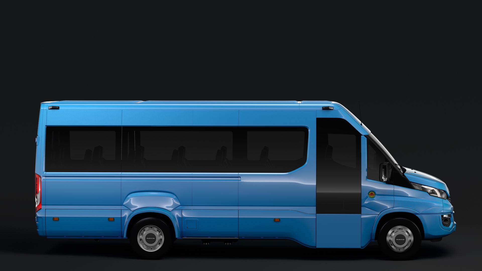 iveco daily tourus l4h2 2017 3d model max fbx c4d lwo ma mb hrc xsi 276201