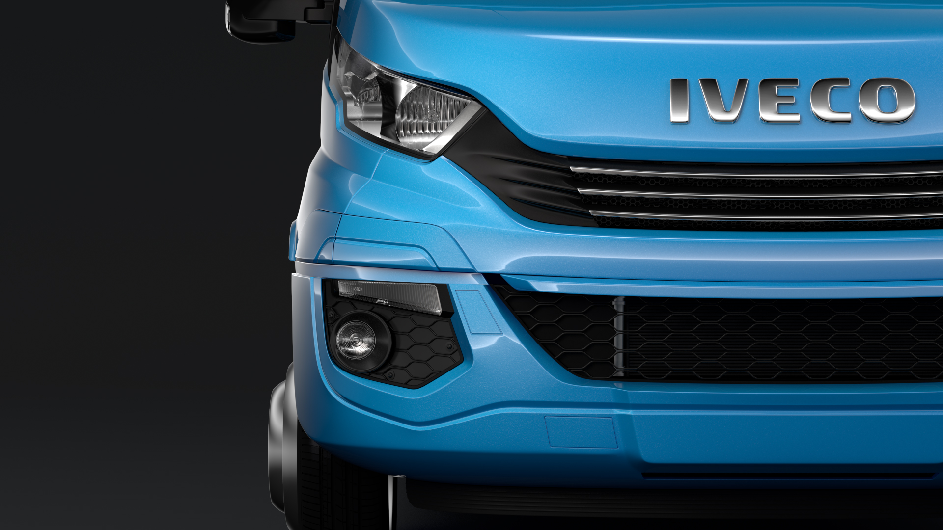 iveco daily tourus l4h2 2017 3d model max fbx c4d lwo ma mb hrc xsi 276202