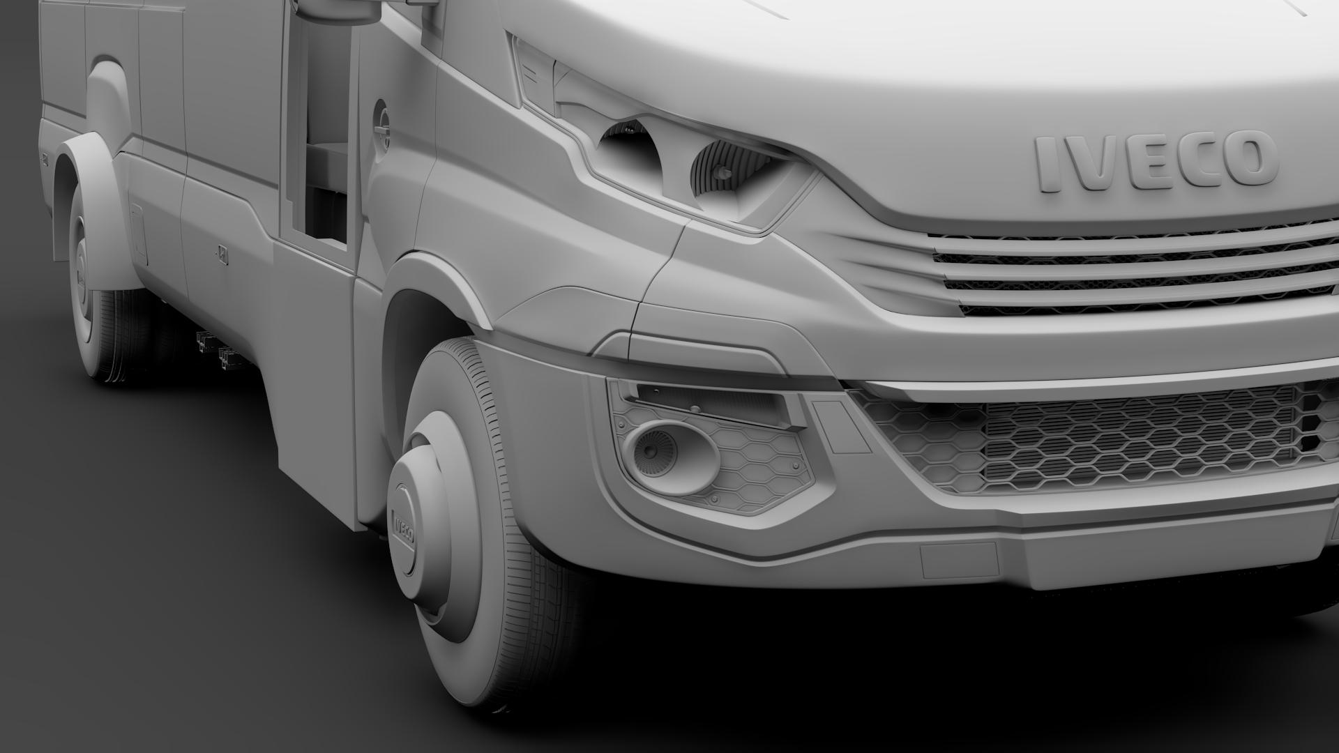 iveco daily tourus l4h2 2017 3d model max fbx c4d lwo ma mb hrc xsi 276212