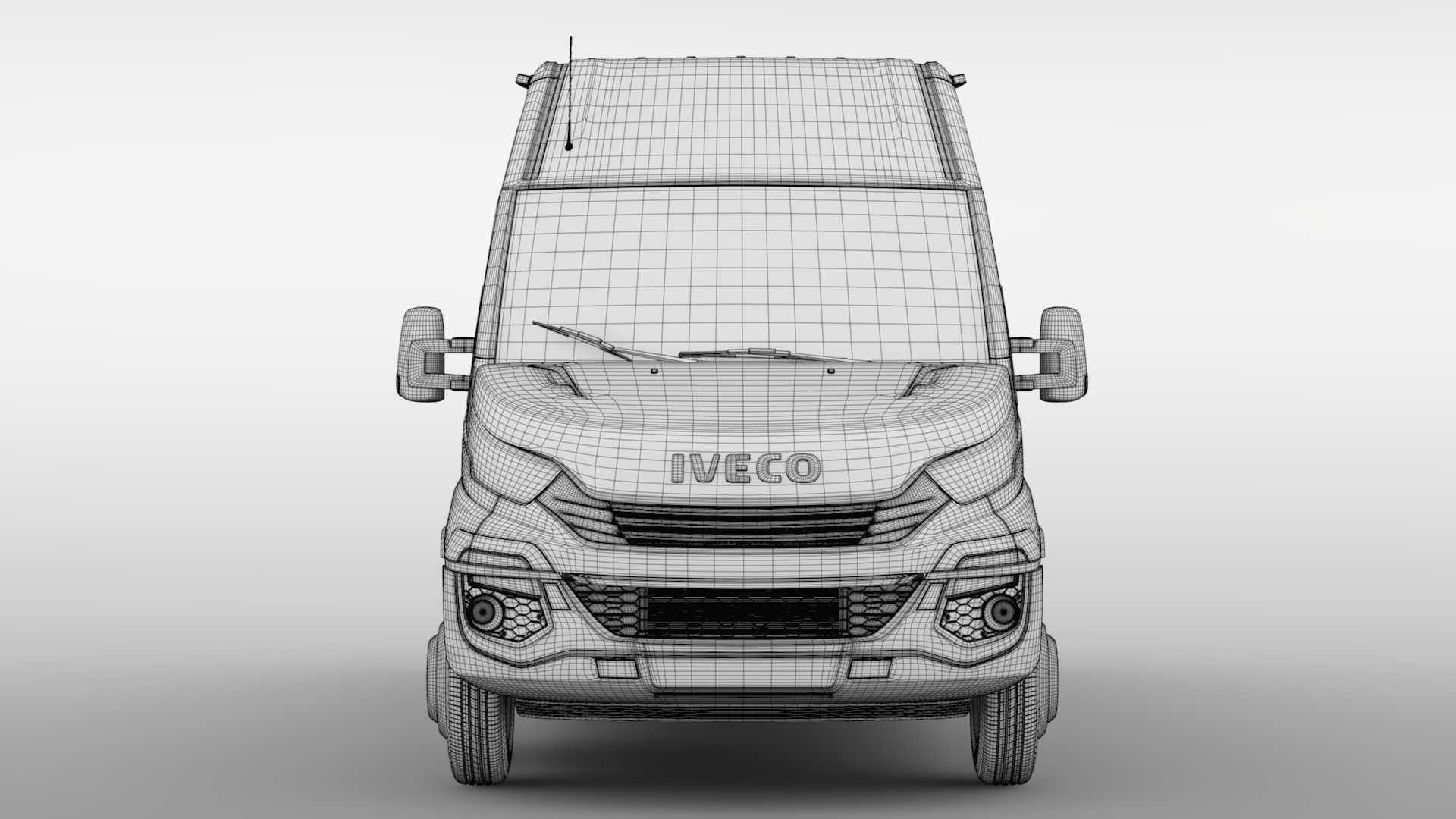 iveco daily tourus l4h2 2017 3d model max fbx c4d lwo ma mb hrc xsi 276216