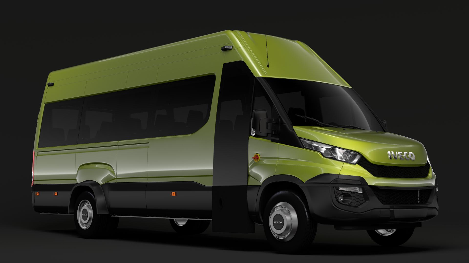 iveco daily tourus l4h3 2014-2016 3d model max fbx c4d lwo ma mb hrc xsi obj 276233